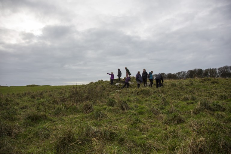 Looking for rock art in Monreith