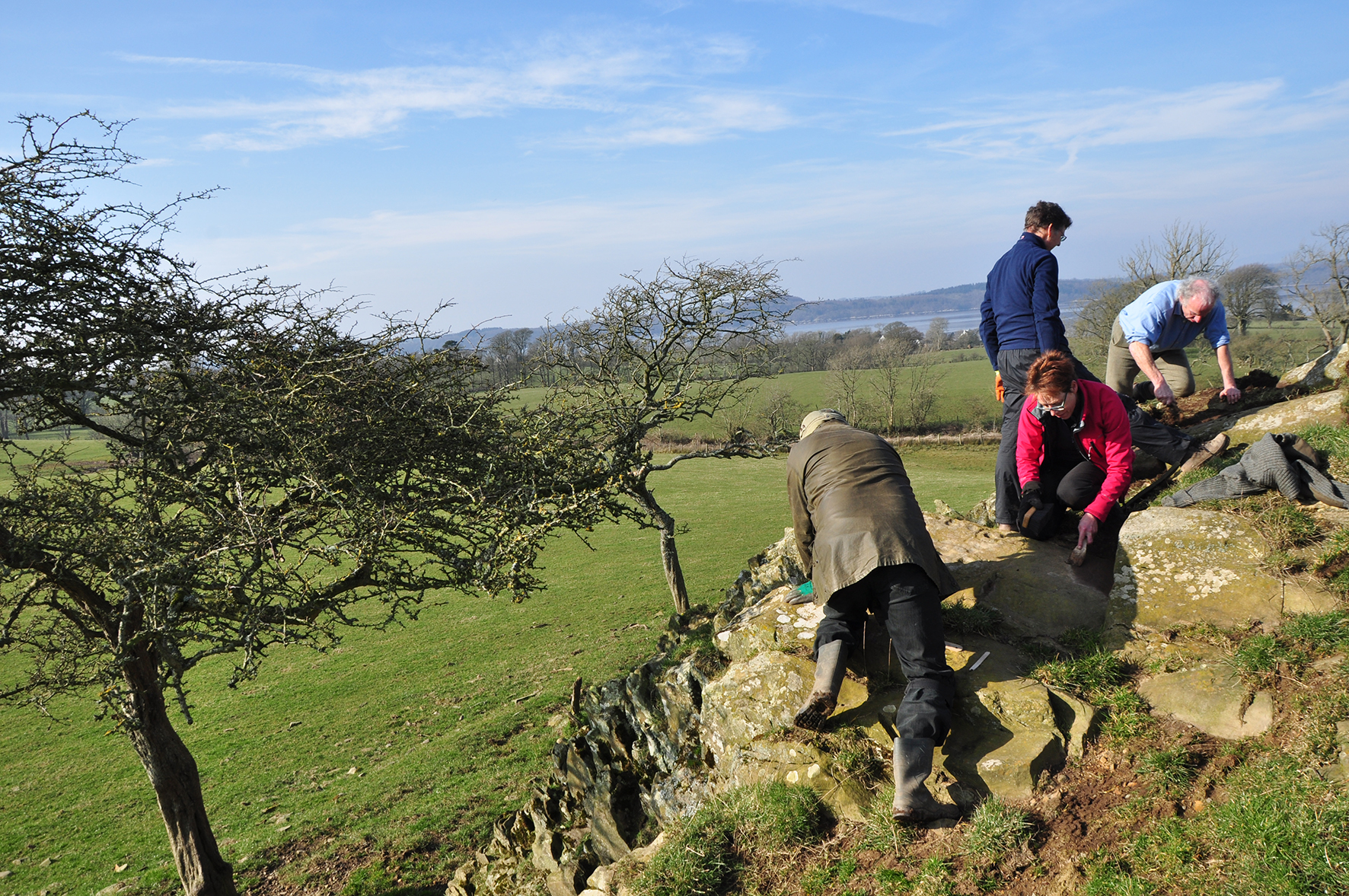 Re-locating Scheduled Monuments (Grange, Kirkcudbright)