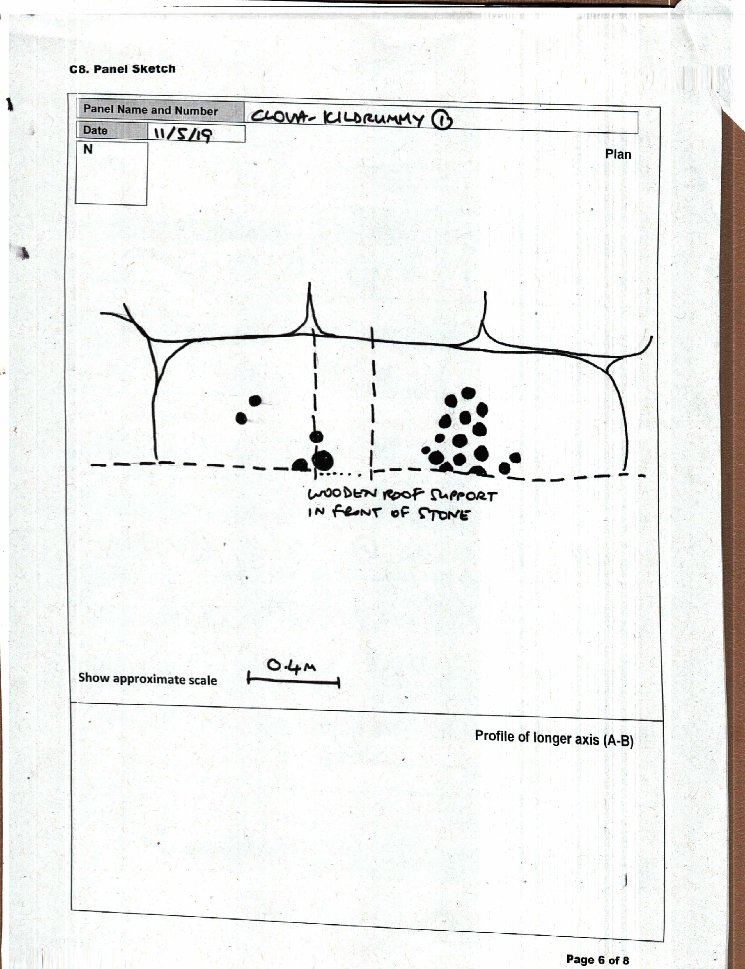 CLOVA, KILDRUMMY 1: Panel Sketch