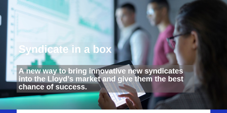 Future at Lloyd's Blueprint One - Syndicate in a box