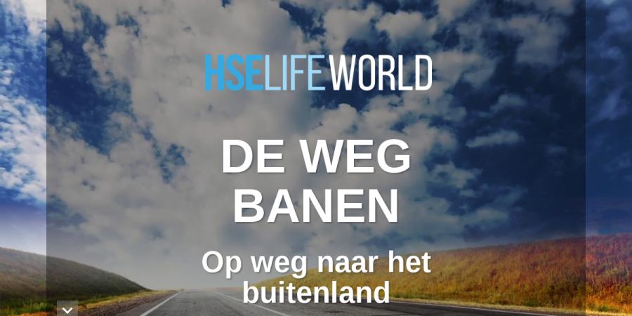 De Weg Banen Hselife World Magazine 26 Nl