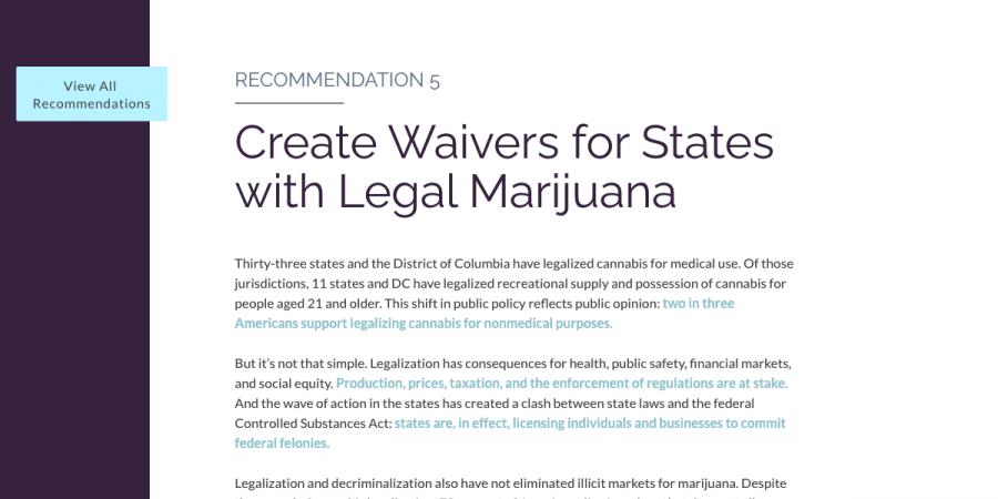 """Kilmer, Beau and Mark. A. R. Kleiman. """"Navigating Cannabis Legalization 2.0."""" The RAND Blog, 4 Dec. 2018,"""