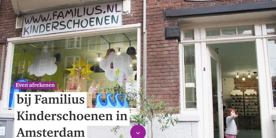 Kinderschoenen Amsterdam.Even Afrekenen Schoenvisie 8 2018
