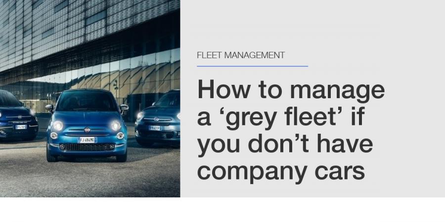 Grey Fleet - FCA Fleet - Articles