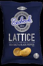 Seabrooks Sea Salt & Pepper Lattice
