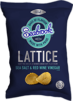 Sea Salt & Vinegar - Lattice Cut