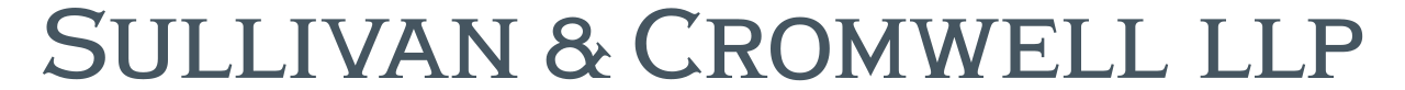 Sullivan and Cromwell logo