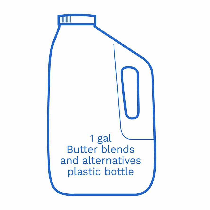 1 gal Butter Blends and Alternative plastic bottle FSUK Hillside