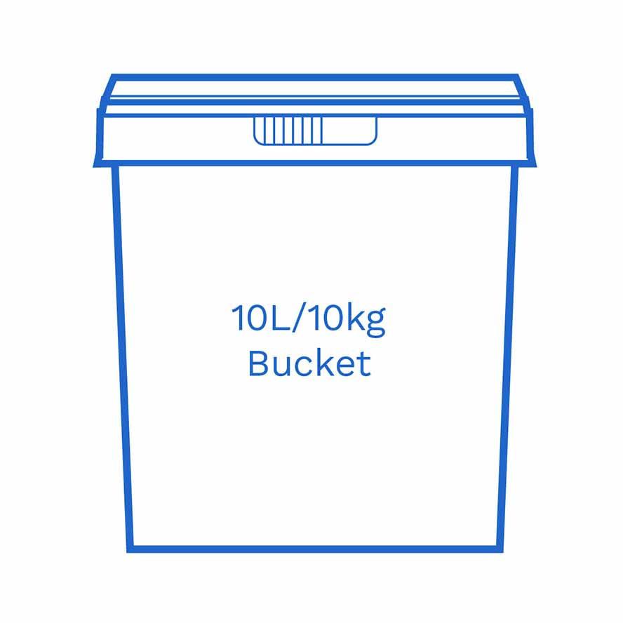 10 L 10kg bucket FSCE Dalby