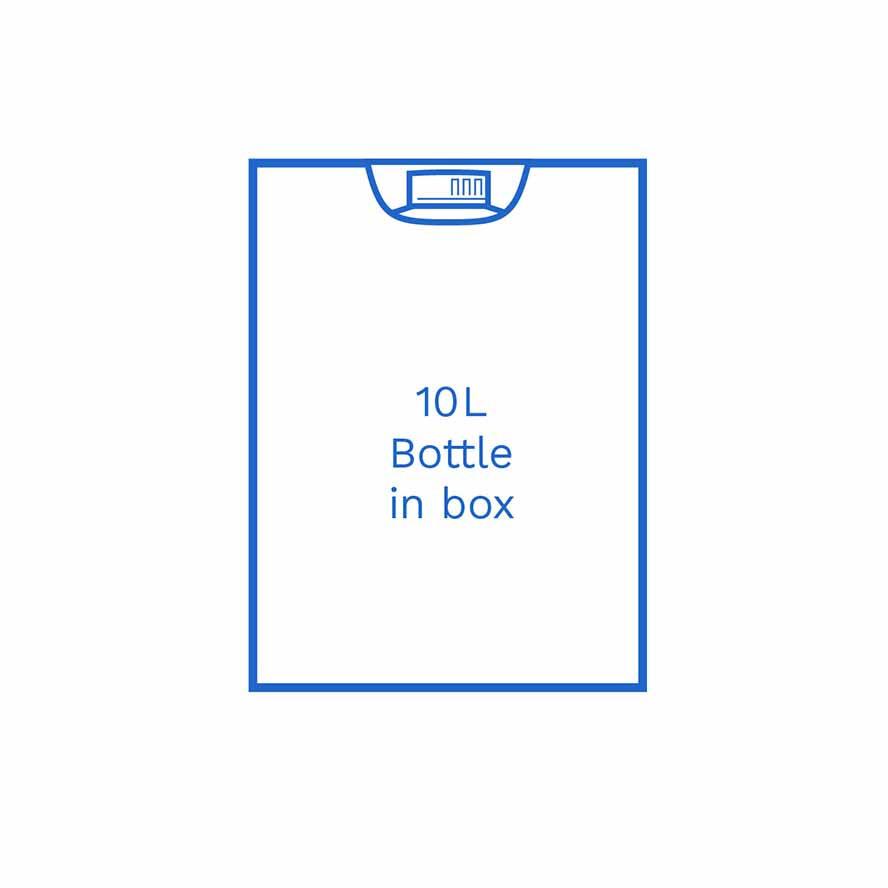 10 L Bottle in box FSUK Hull