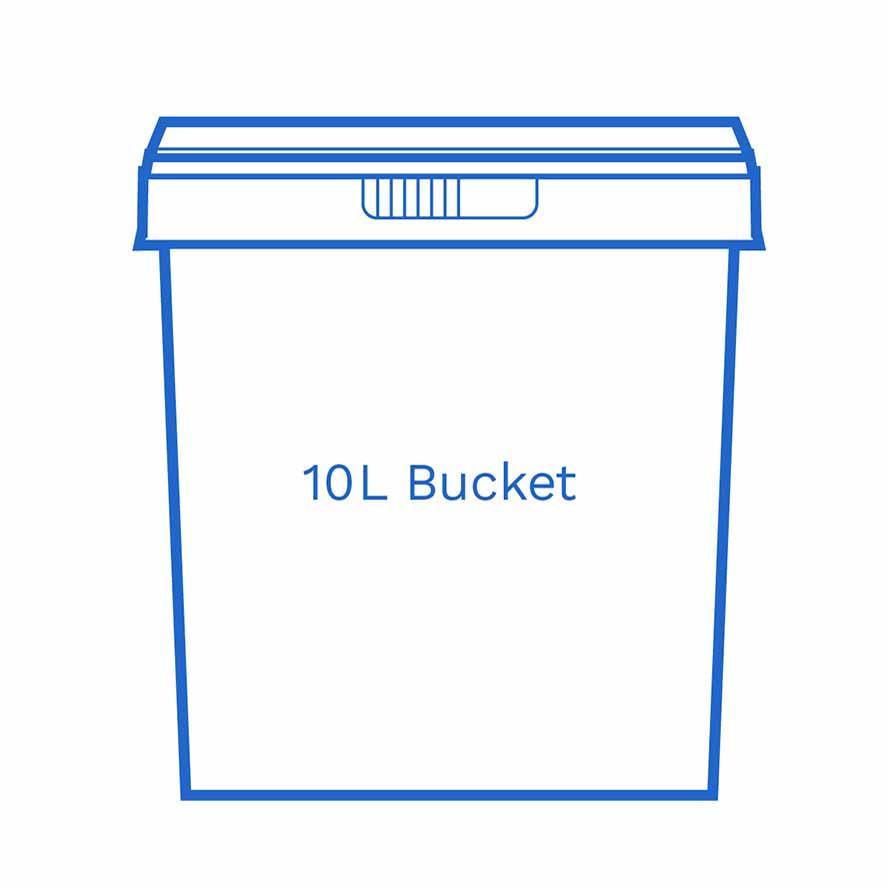 10 L Bucket FSCE Karl