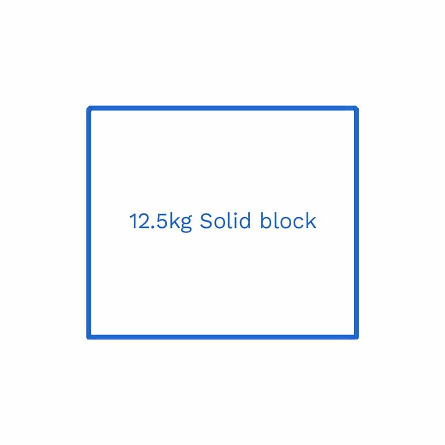 12 5kg solid block FSUK Hull
