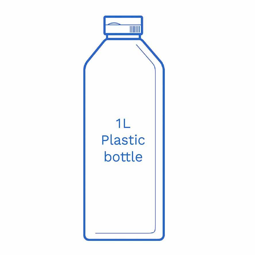 1 L Plastic bottle FSUK Hastings