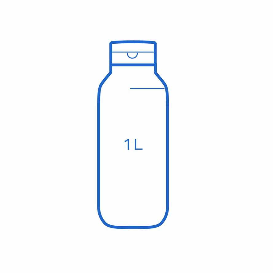 1 L Top up bottle FSUK Runcorn