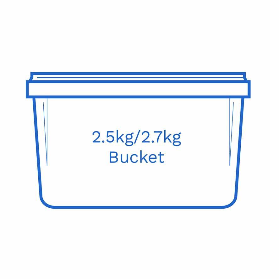 2 5kg 2 7kg bucket FSCE Da
