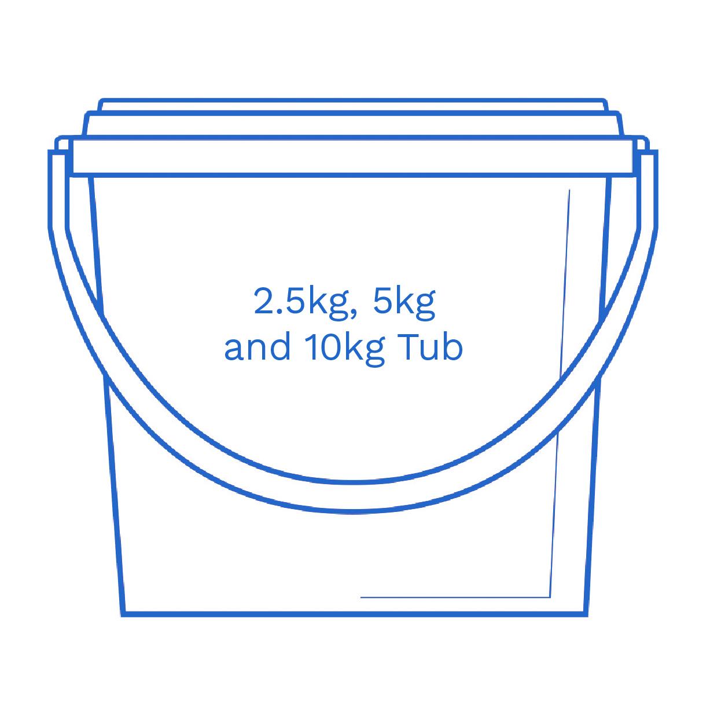 2 5kg 5kg and 10kg Tub FSUK Hastings