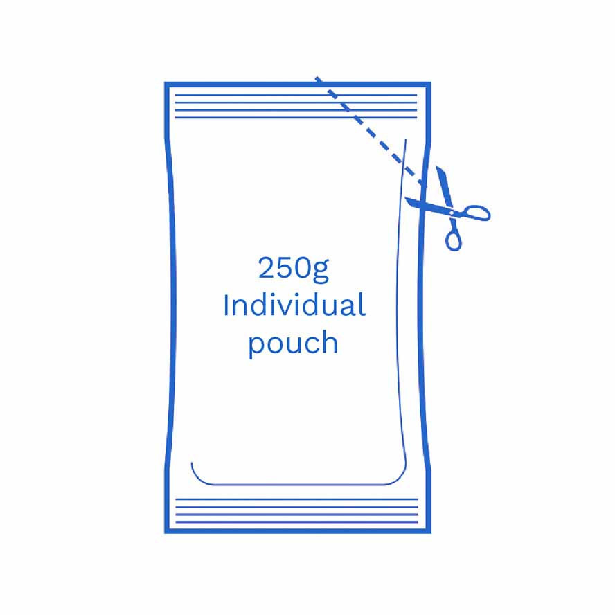 250g Individual pouch FSUK Hastings