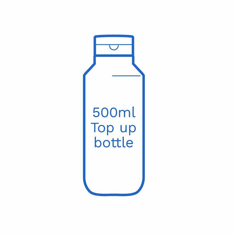 500ml top up bottle FSUK Hastings