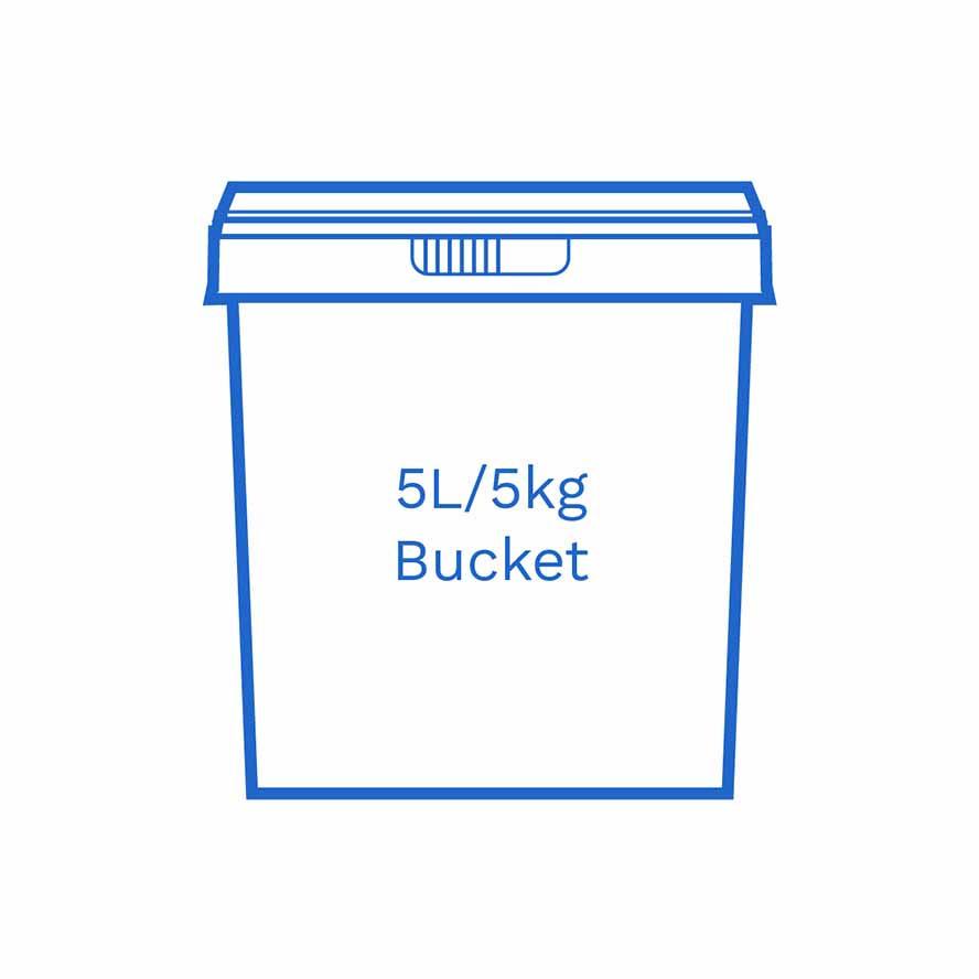 5 L 5kg bucket FSCE Dalby