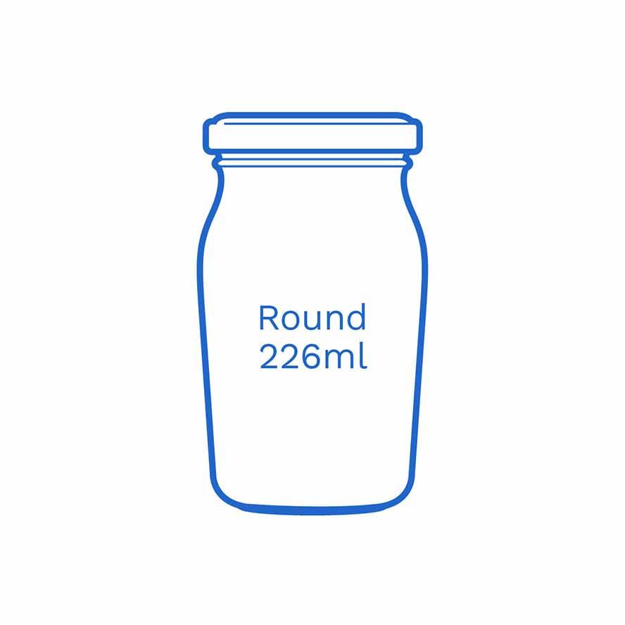 Round 226ml FSUK Runcorn