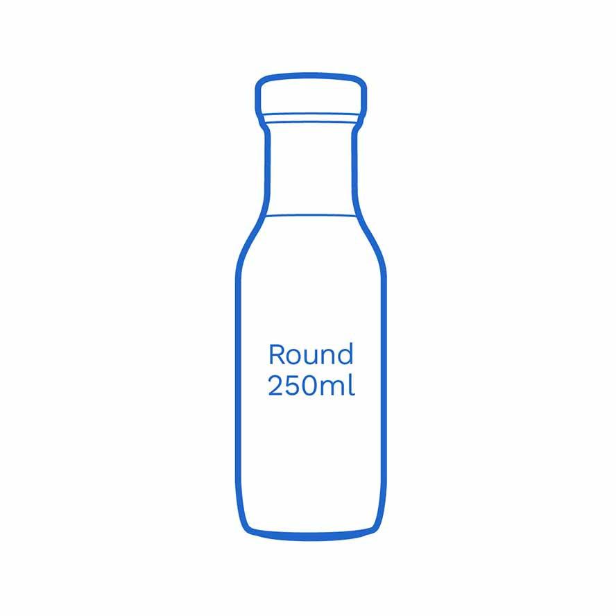 Round 250ml FSUK Runcorn