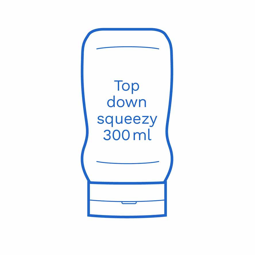 Top down squeezy 300ml FSUK Runcorn