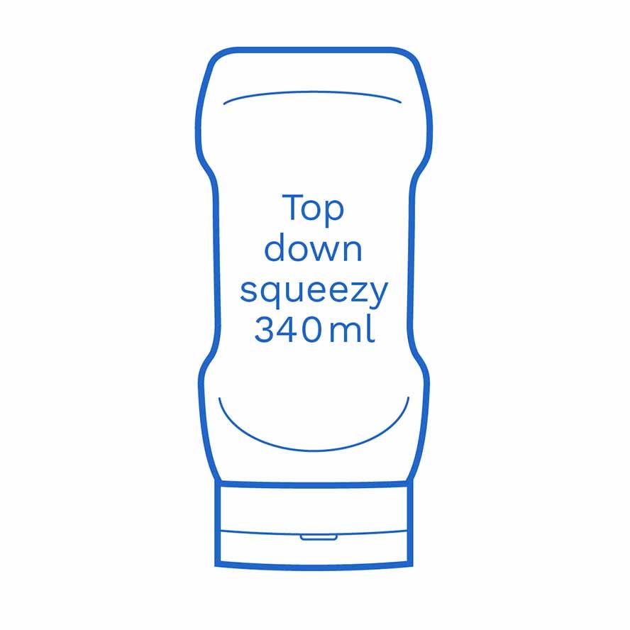 Top down squeezy 340ml FSUK Runcorn
