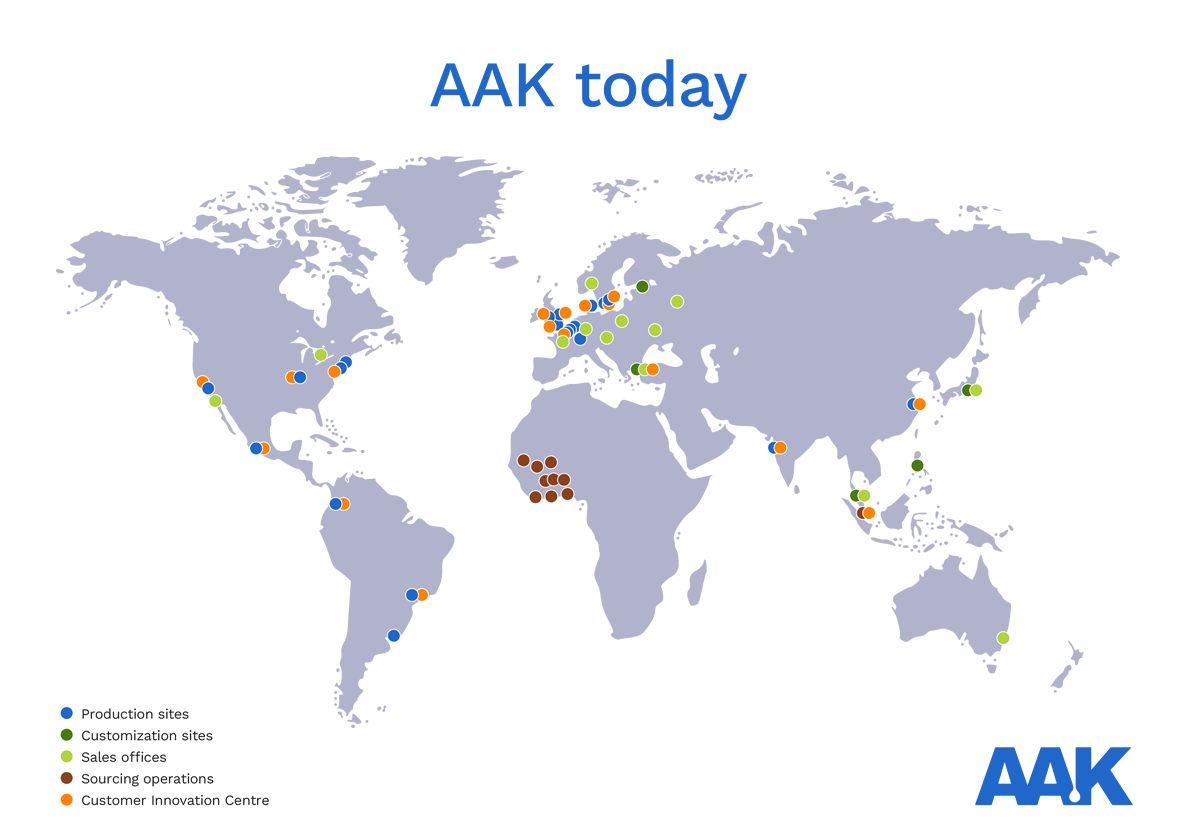 AAK Today map