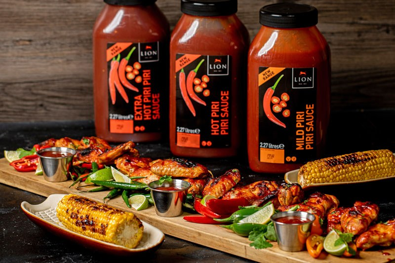 Lion Chicken Wings Piri Sauces07 Small