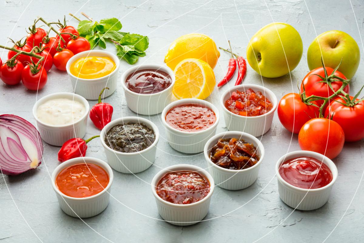 Savoury Sauces Condiments Ripple