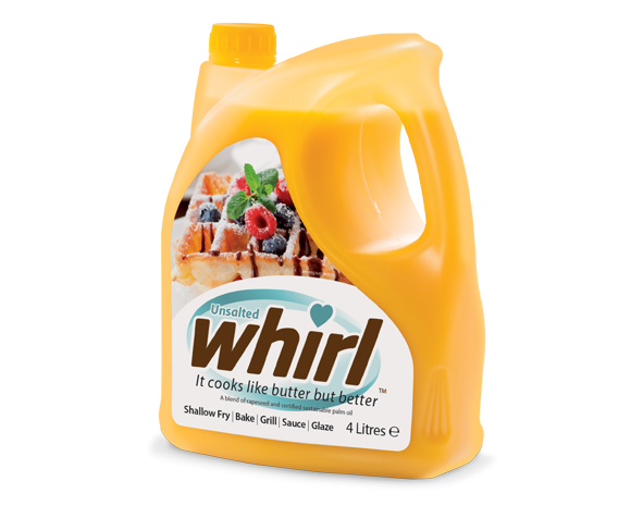 Unsalted Whirl