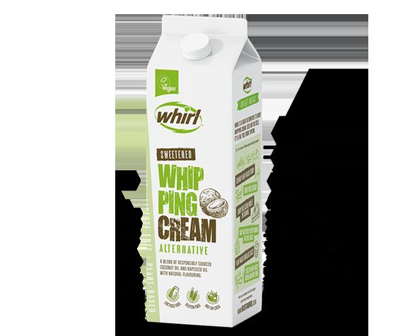 Whipping cream updated
