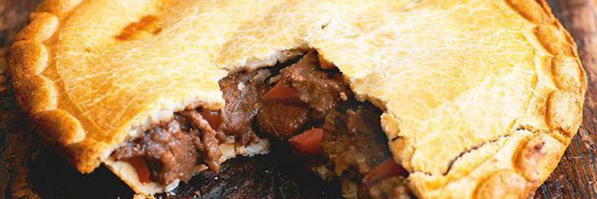 Steak and ale pie News Banner