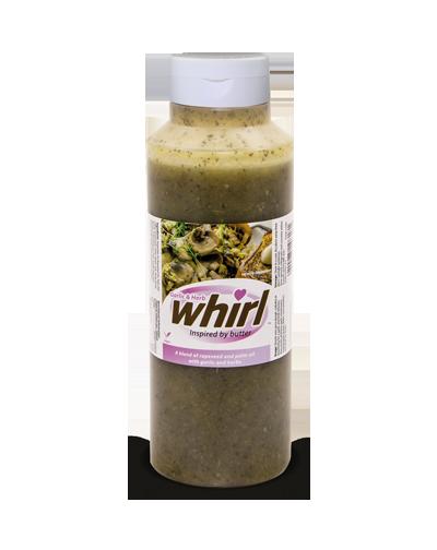 Garlic herb whirl white lid Edit