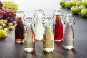 Olive oils cooking wines vinegars