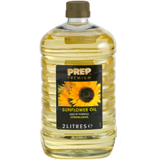 Sunflower oils gold