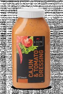 Lion Cajun Tomato Dressing 2 27 L White Lid