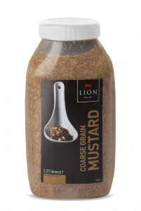 Lion Course Grain Mustard 2 27 L White Lid