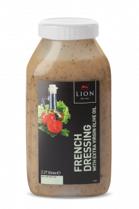 Lion French Dressing with Extra Virgin Olive Oil 2 27 L White Lid
