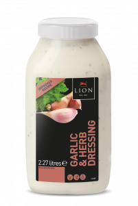 Lion Garlic Herb Dressing 2 27 L White Lid