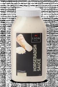 Lion Horseradish Sauce 2 27 L White Lid