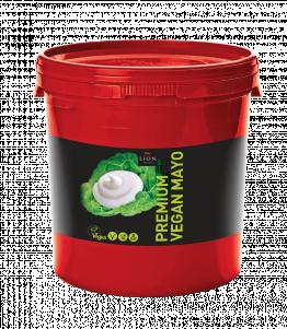 Lion Premium Vegan Mayonnaise 10 L tub Red