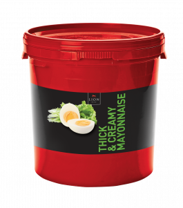 Lion Thick Creamy Mayonnaise 10 L tub Red