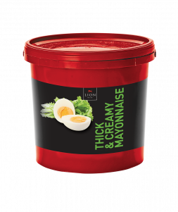 Lion Thick Creamy Mayonnaise 5 L tub Red