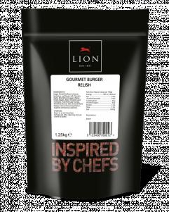 Lion Pouch Gourmet Burger Relish