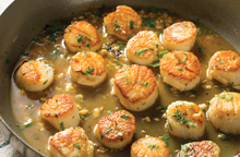 Garlic Whirl shallowfrying