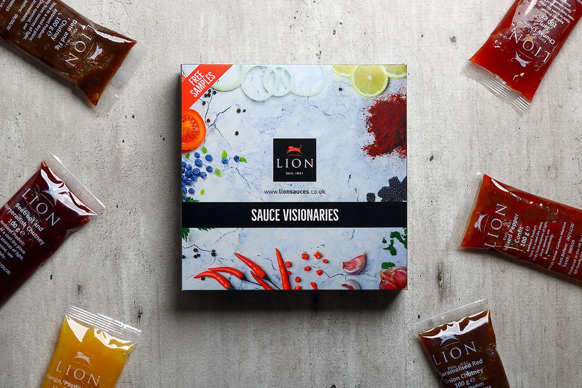 Lion Sauce Visionaires Sample Box
