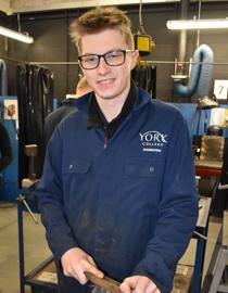 Ben Walker, Performing Engineering Operations Level 2
