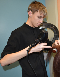 Jack Towers, Hairdressing Diploma Level 2