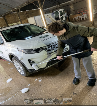 Land Rover work experience